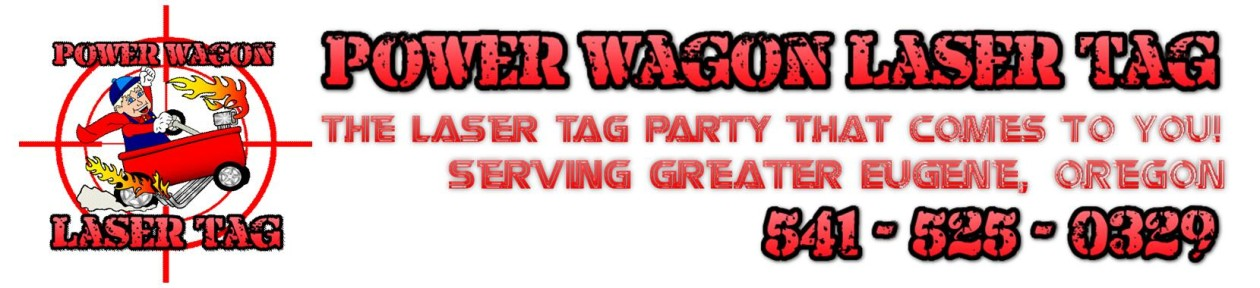 Power Wagon Laser Tag – Mobile Birthday Party Idea – Eugene, Oregon
