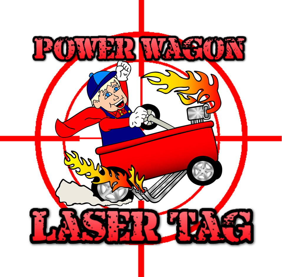power-wagon-eugene-oregon-laser-tag-party-logo
