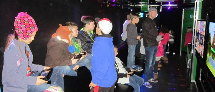 Combine Laser Tag and our Power Wagon Mobile Video Game Theater...